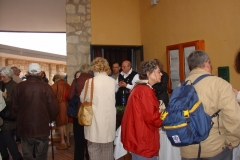cruise passengers at the museum April 2010
