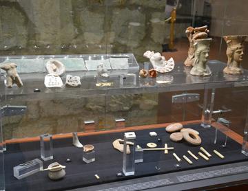 Museo Archeologico Ferruccio Barreca, Sala 1