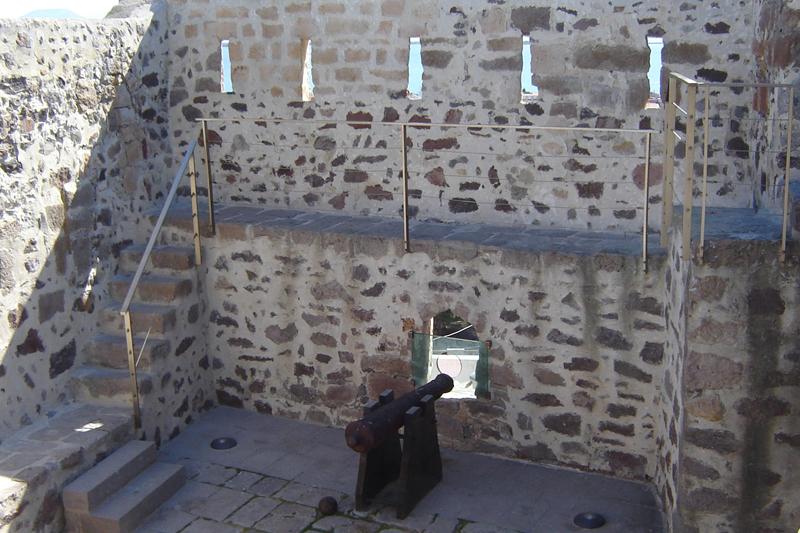 Forte Sabaudo, il cannone
