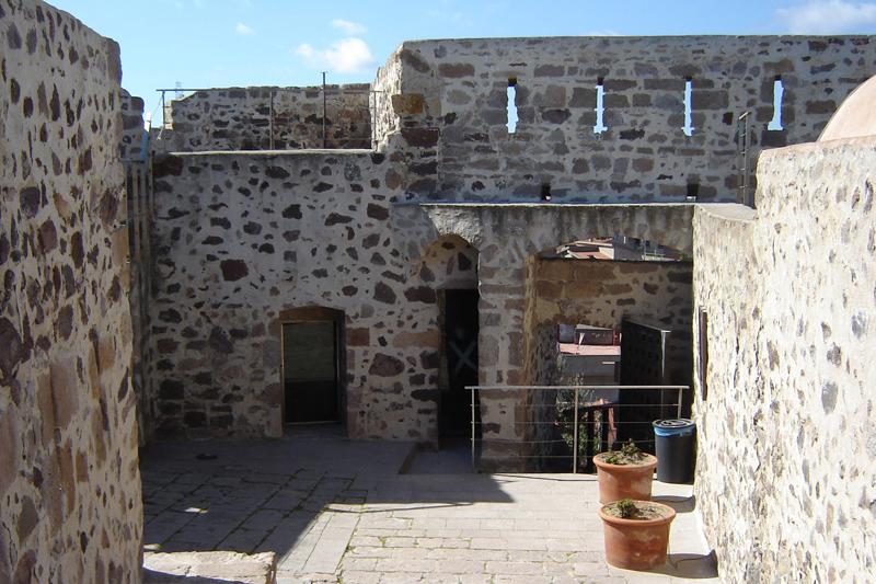 Forte Sabaudo, interno