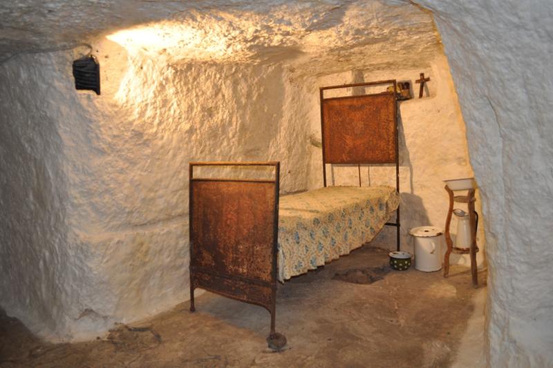 Villaggio Ipogeo, la camera