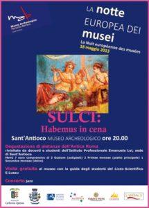 Locandina Notte dei Musei 2013
